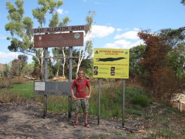 East Aligator River Crossing in Australia