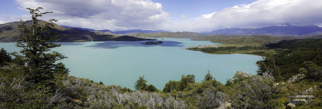 Nordernskjold Lake in Torres del Paine