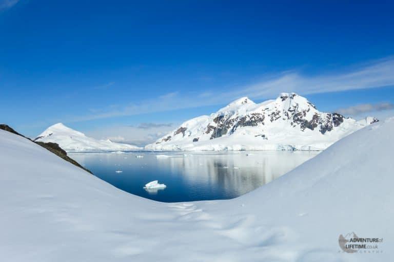 Sunny Day in Antarctic