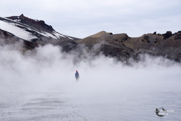 Volcanic Steam on Deception Island, Antarctica