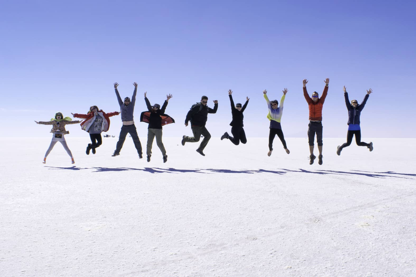 Bolivian Salt Flats Group