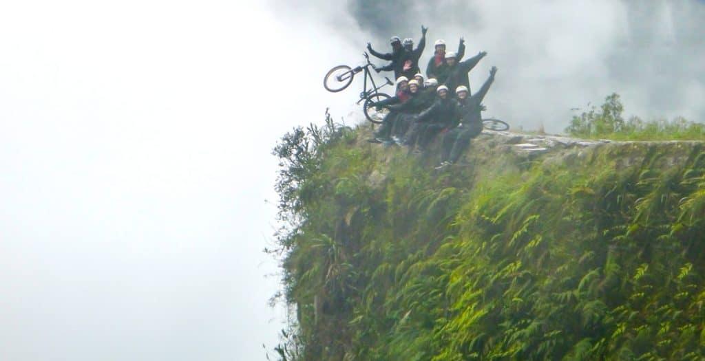 Death Road Mountain Biking Ride