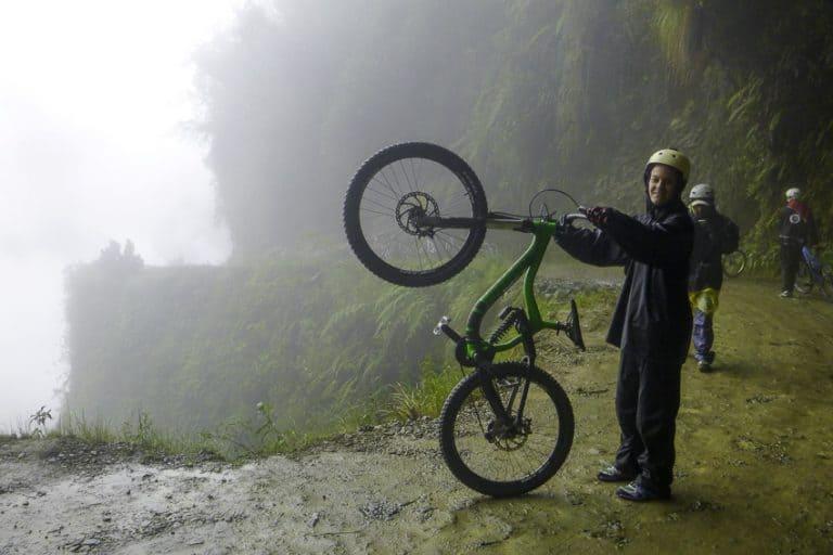 Dora Aldridge Death Road, Bolivia