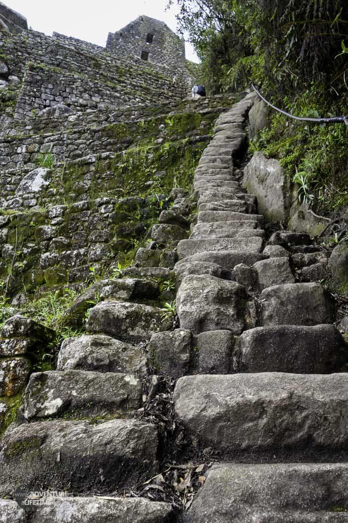 Huayna Picchu Steps