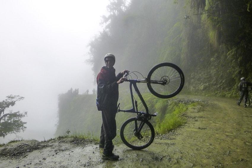 Malacolm Aldridge Death Road, Bolivia