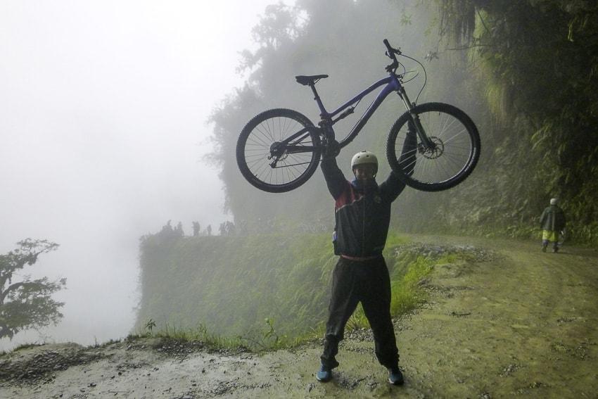 Michael Aldridge Death Road, Bolivia