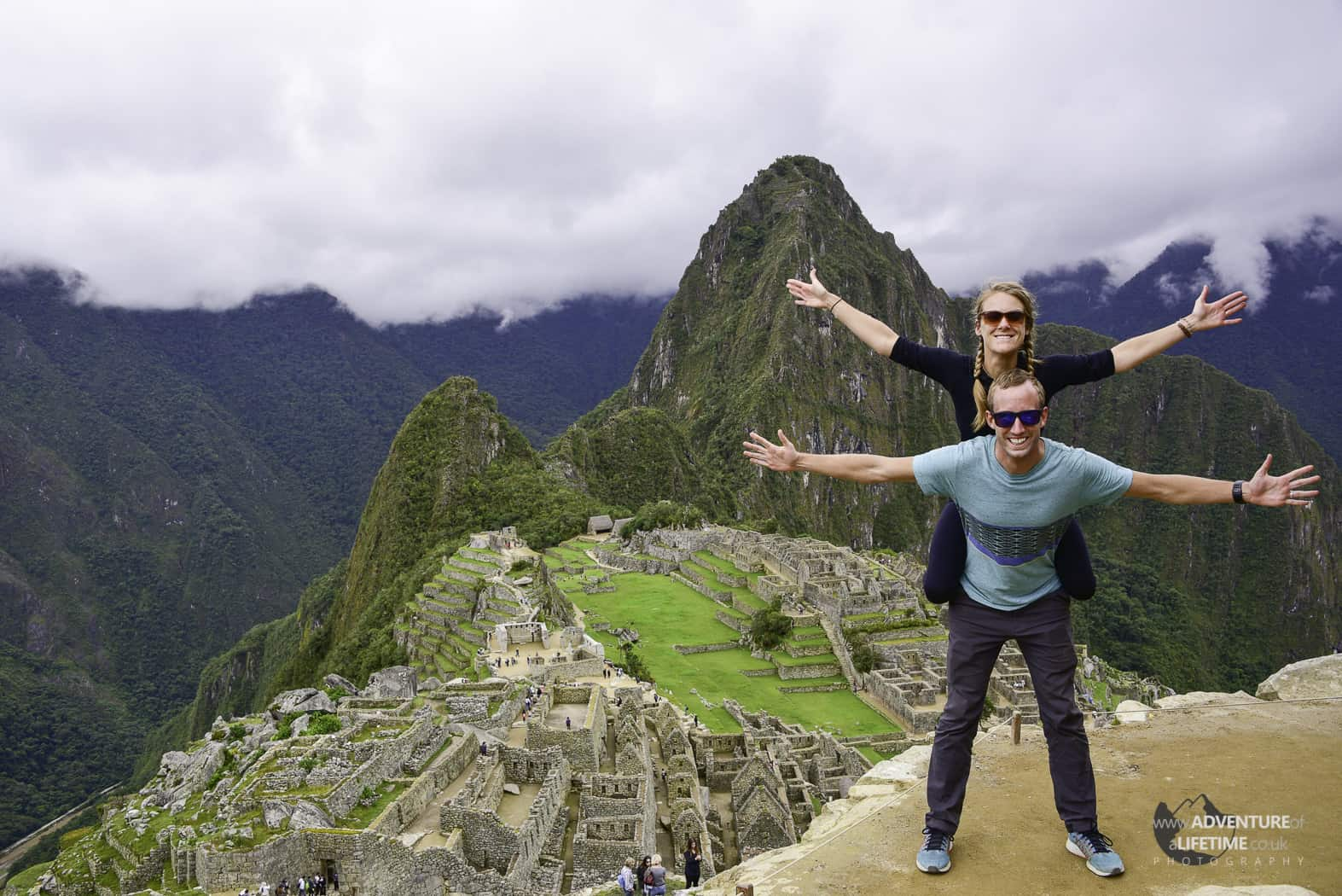 Michael & Dora at Machu Picchu