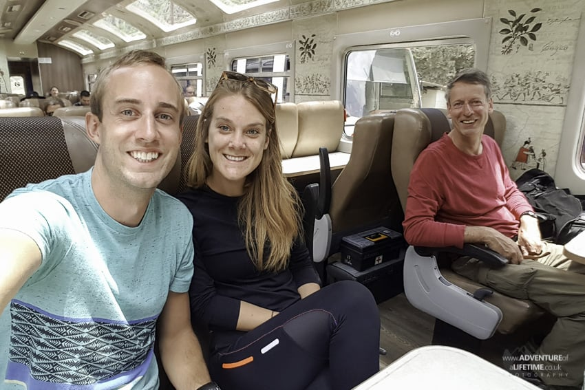 Train Journey to Machu Picchu