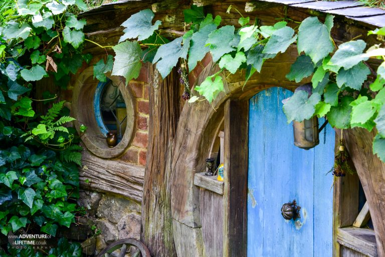 Blue Door, Hobbit Hole