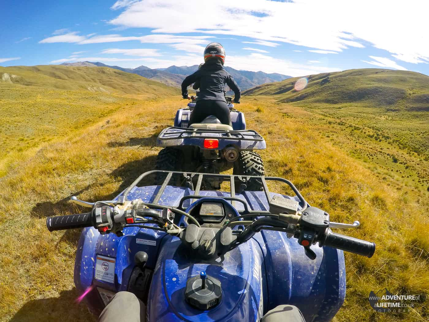 Cardrona Valley Quad Biking