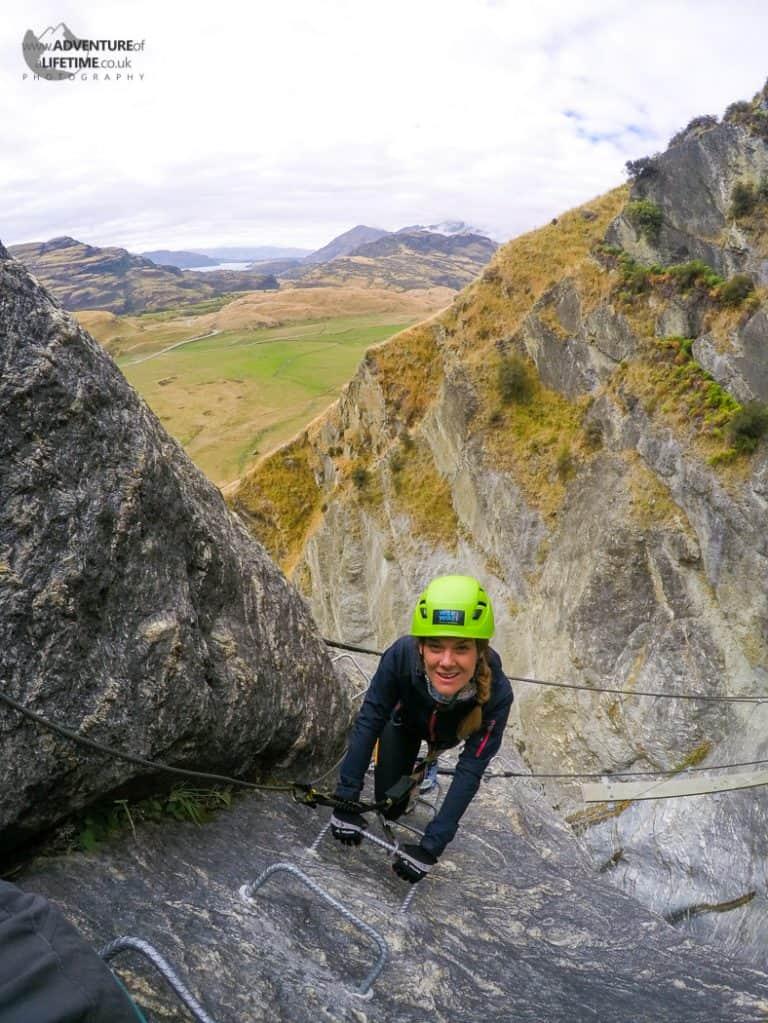 Dora Rock Climbing in Wanaka