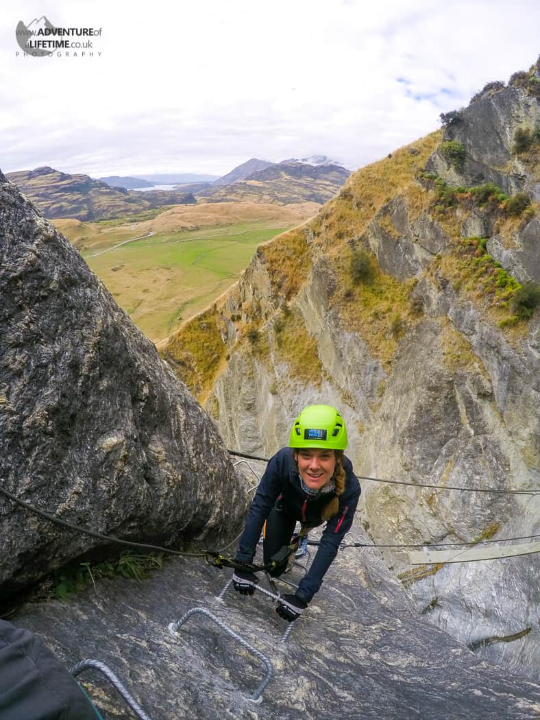Dora Rock Climbing in Wanaka