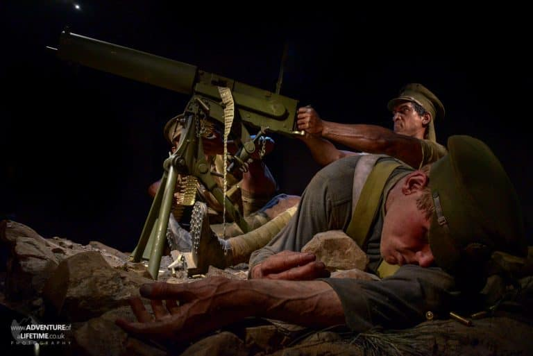 Gallipoli Exhibit at Te Pappa Museum, Wellington