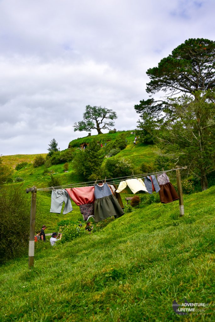 Hobbit Laundary Day in The Shire