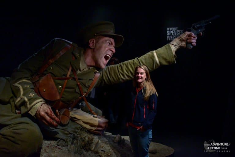Huge Scale Gallipoli Exhibit with Dora