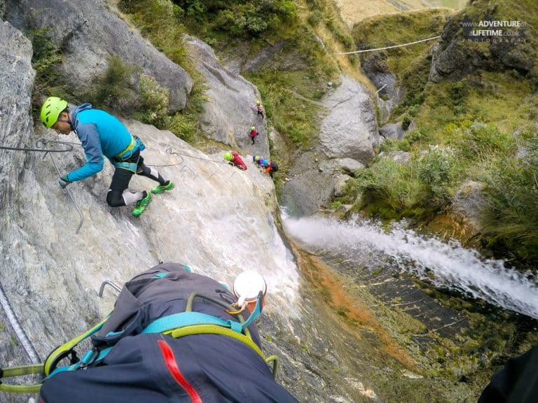 Lake Wanaka Via Ferrata Climbing