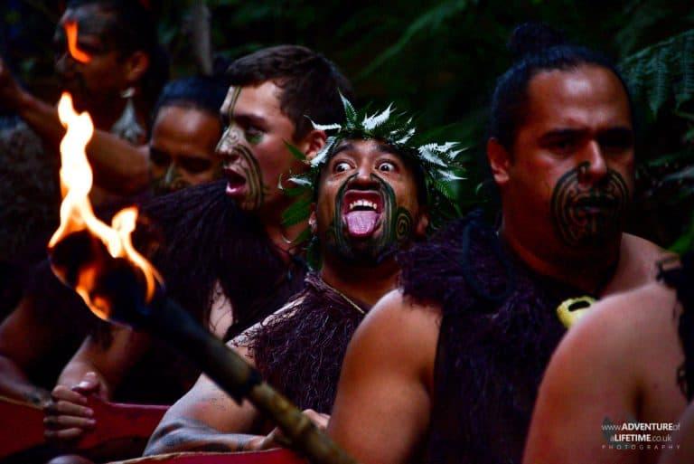 Maori Faces
