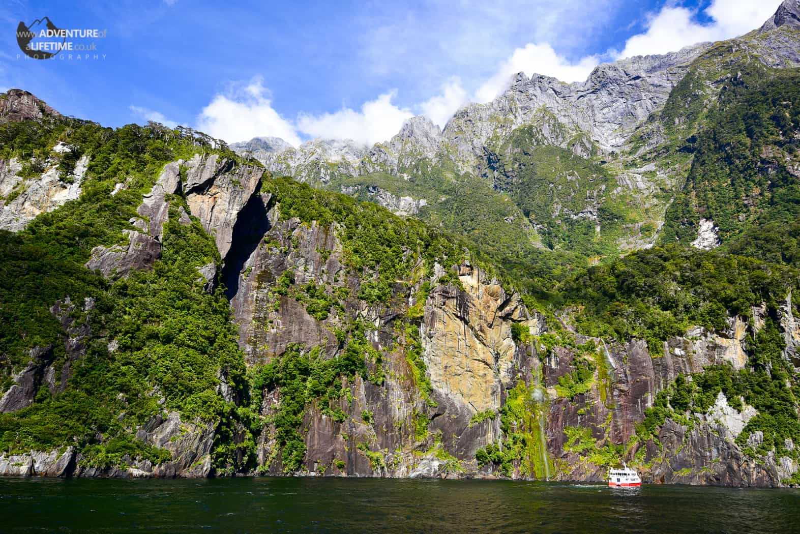 Milford Sounds Mountain Face