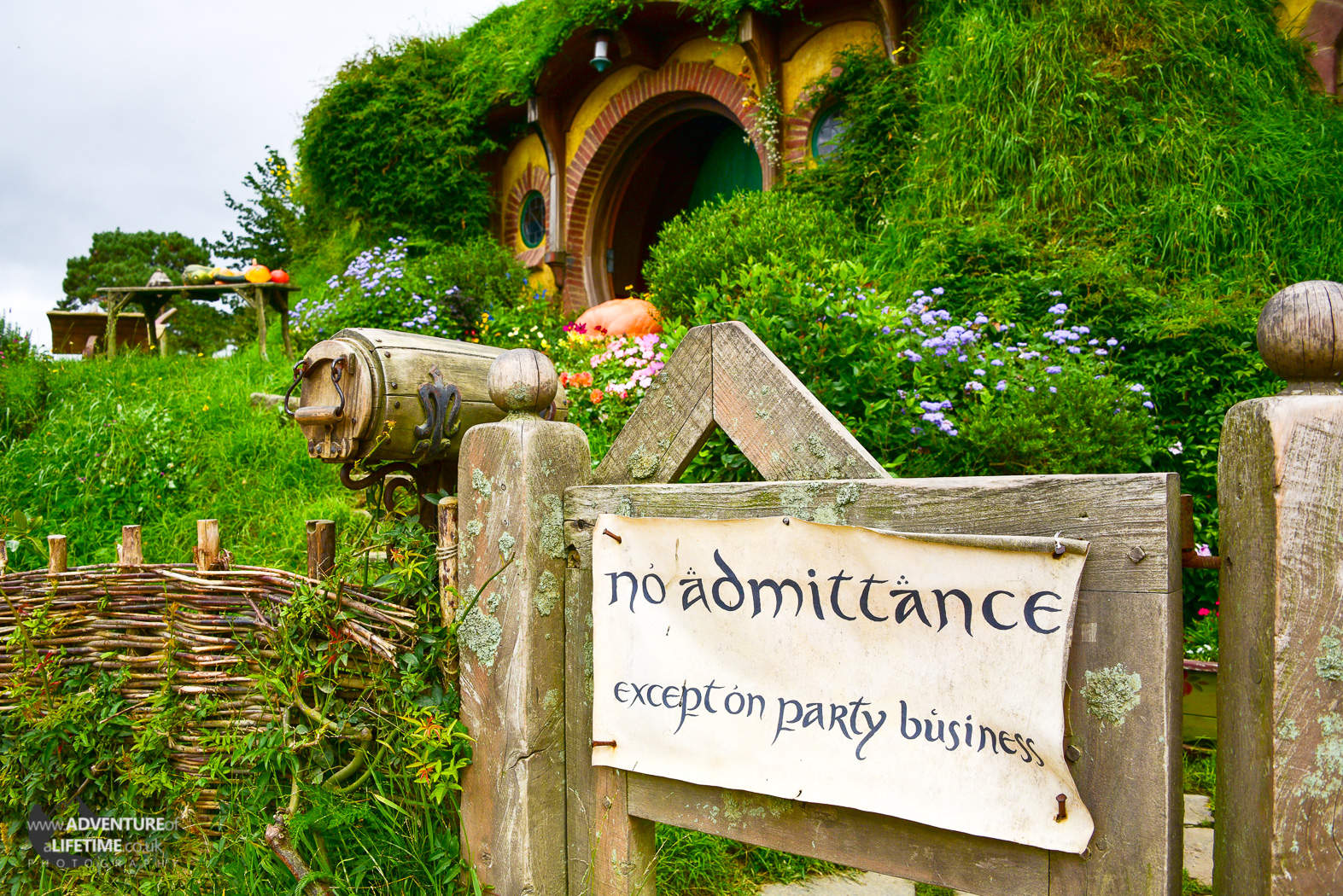 No Admittance, except on party buisness - Bilbo Baggins House