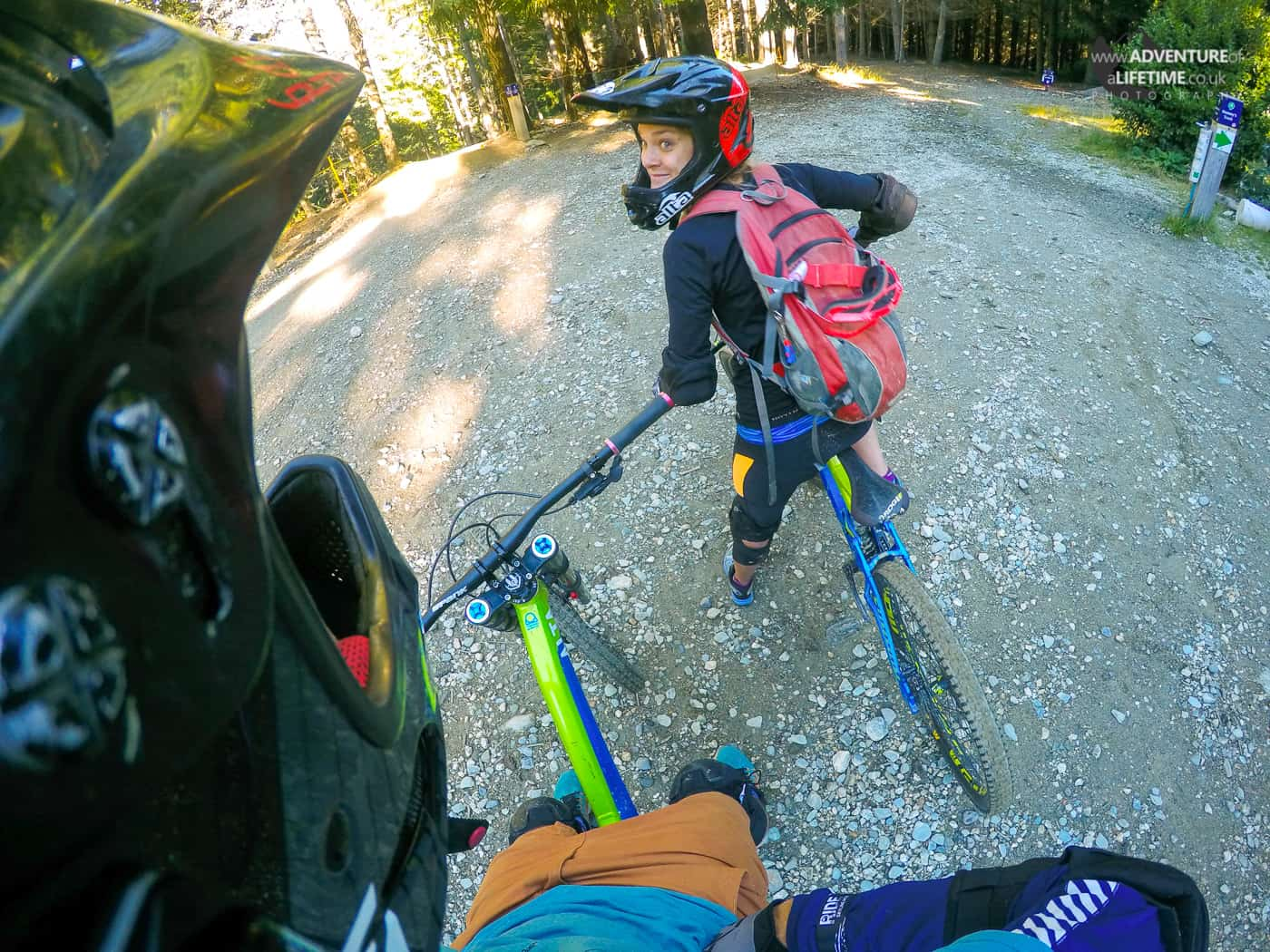 Riding Queenstown's Trails