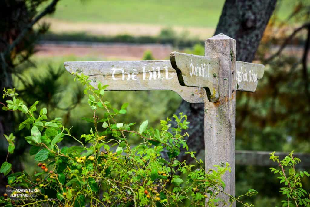 Signpost in the Shire