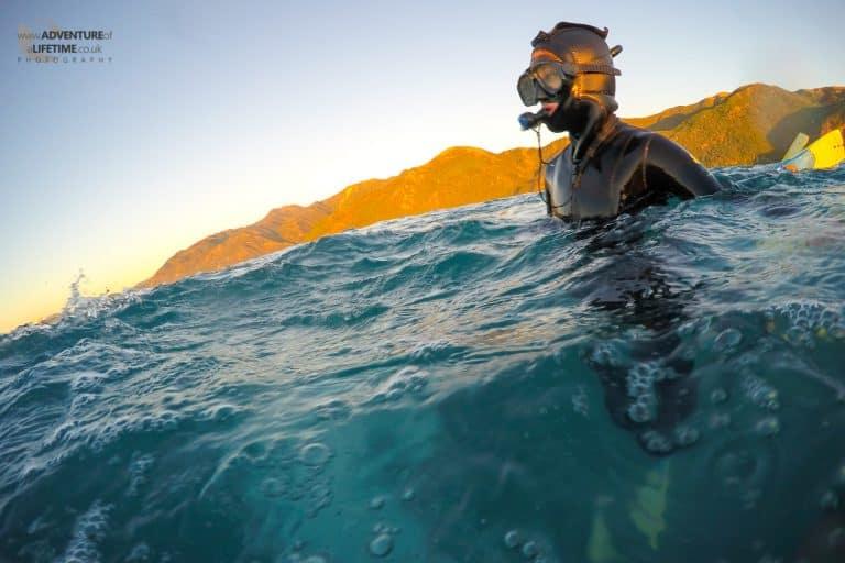 Swimming in Kaikoura