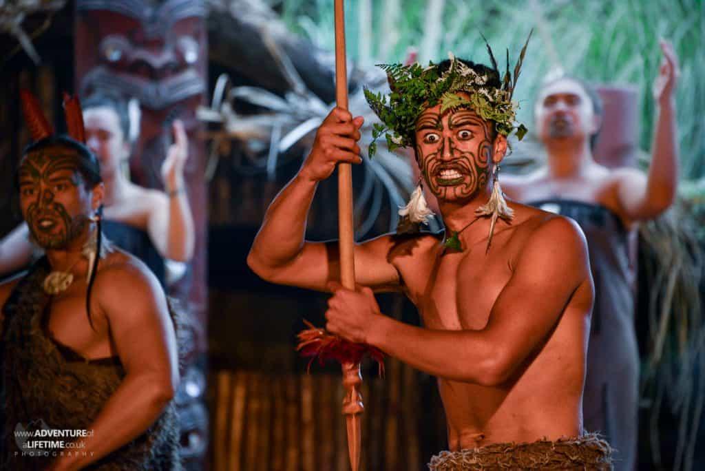 The Haka, Mitai Maori Village Rotorua