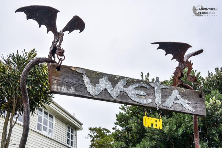 WETA Workshop Sign
