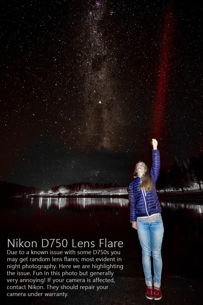 Nikon D750 Lens Flare Problem