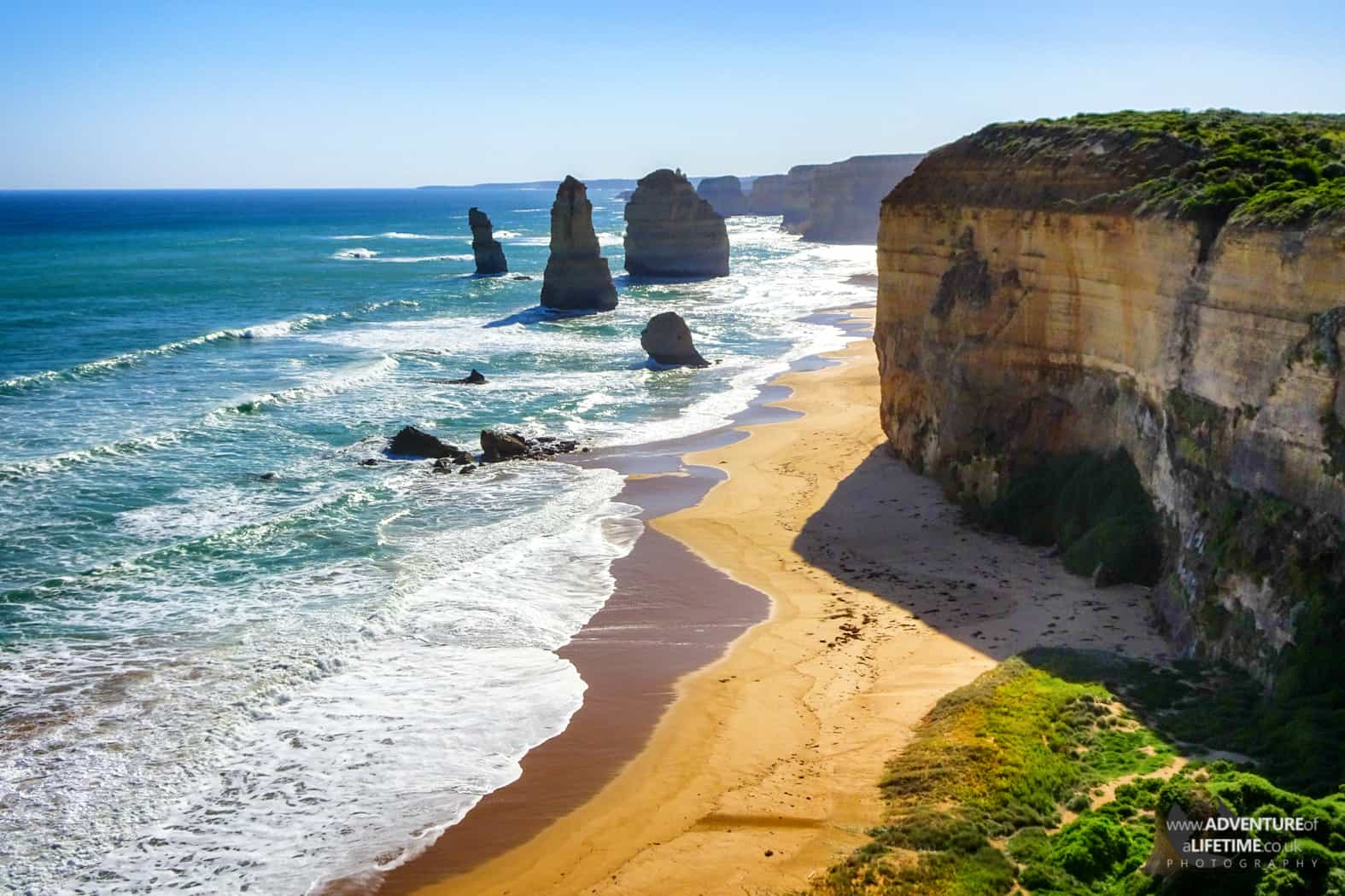 12 Apostles from Great Ocean Road