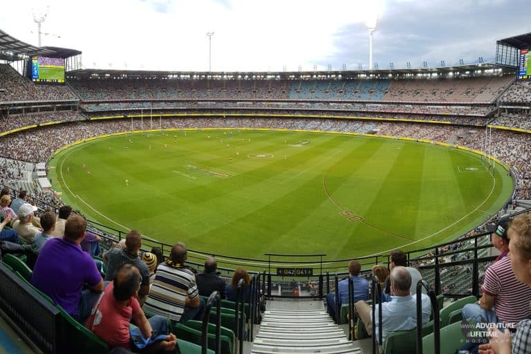 AFL Game at Melbourne's MCG