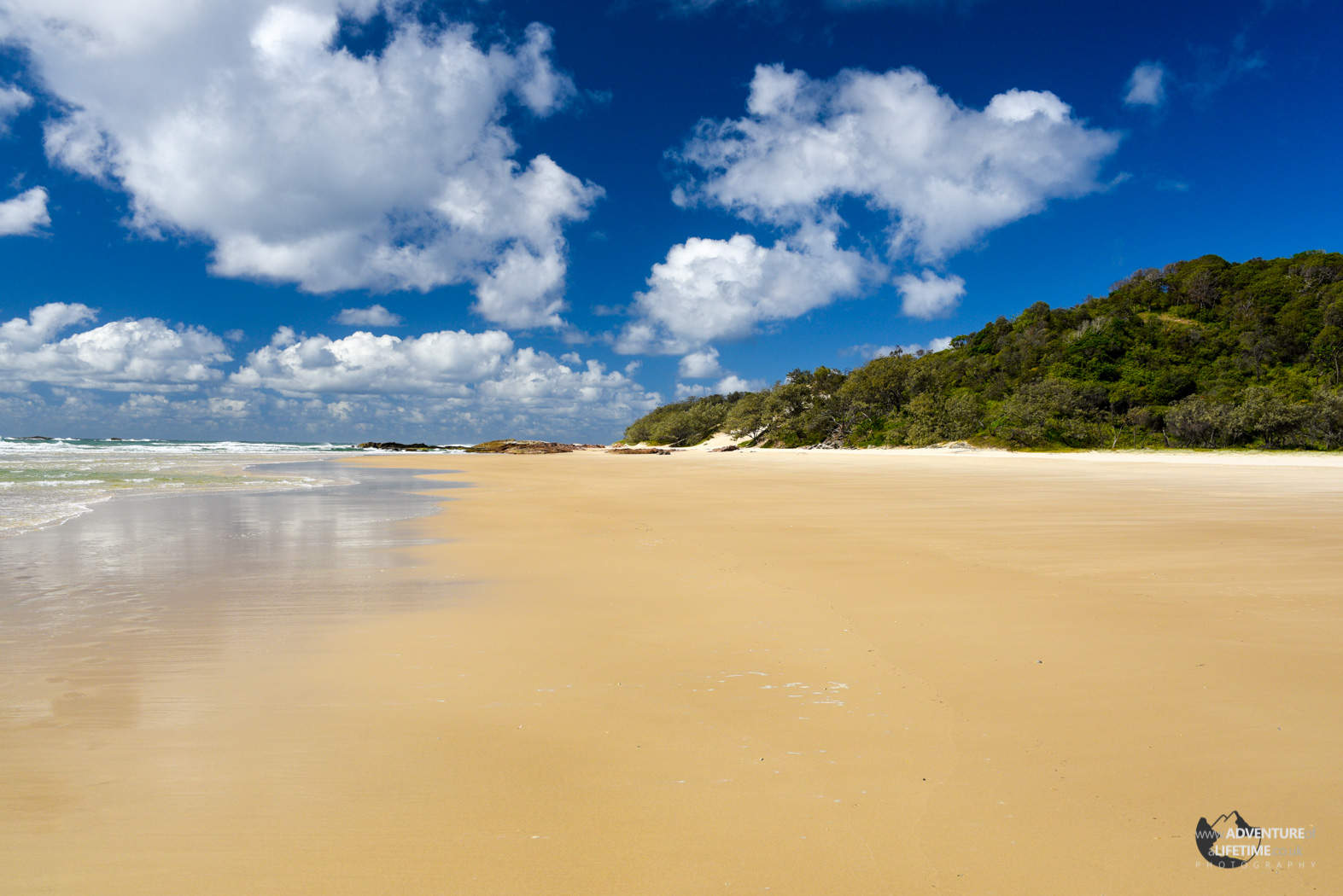Beach at Stradbroke Island