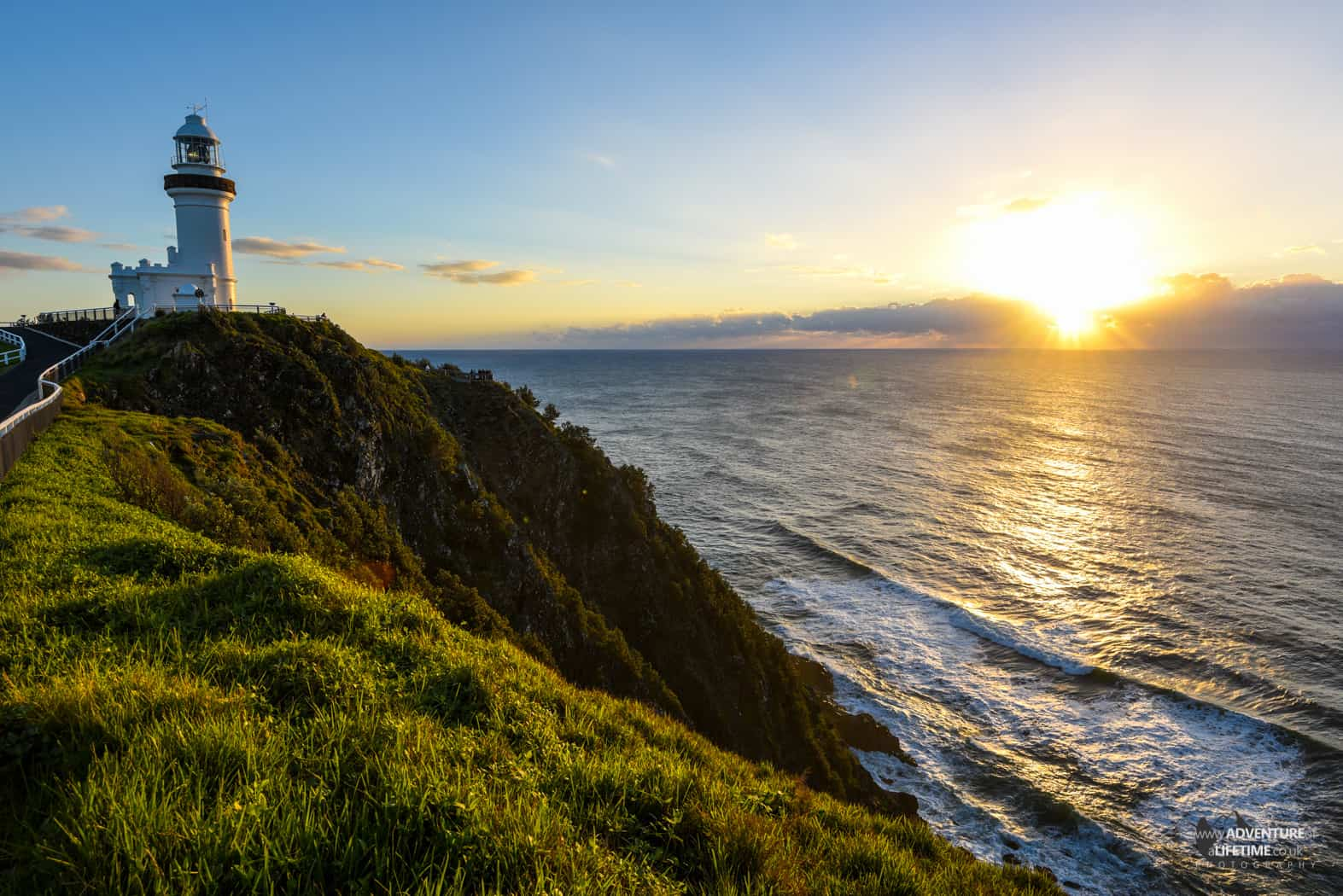 Bryon Lighthouse Sunrise