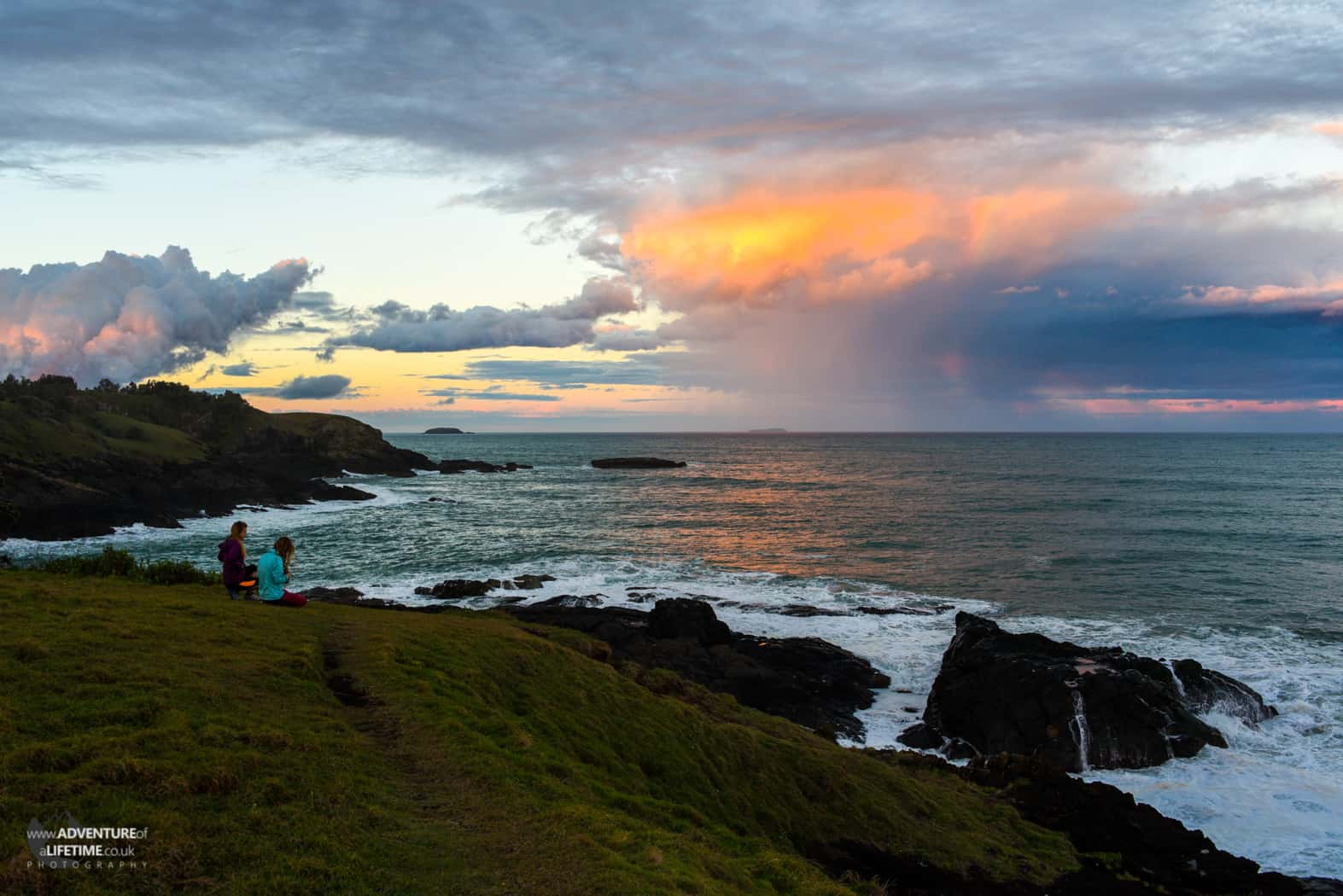 Coffs Harbour Stormy Sunset