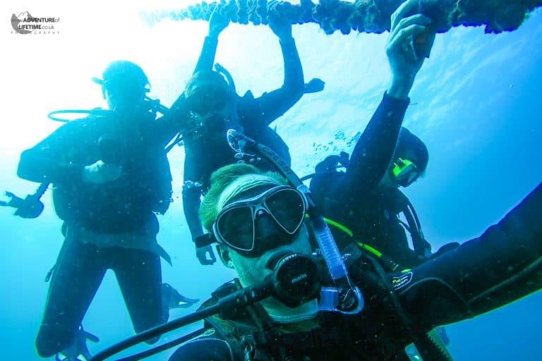 Scuba Diving at Julien Rocks
