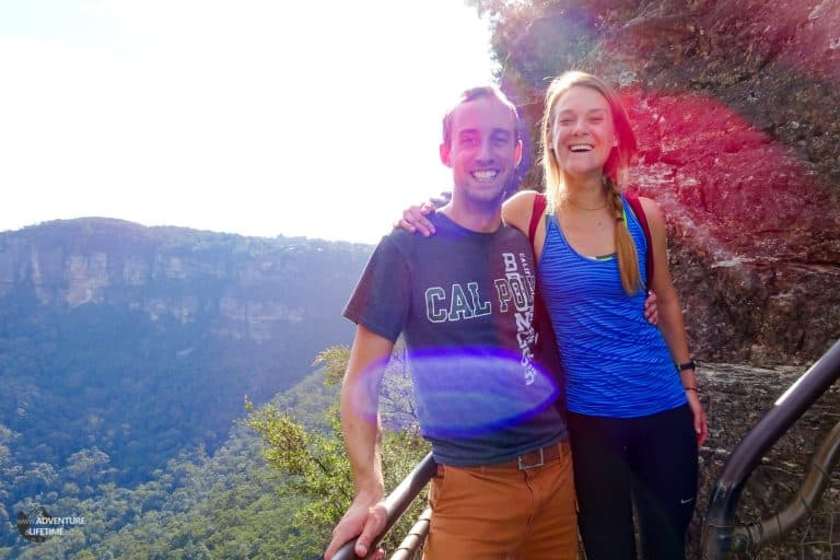Laughing at The Blue Mountains
