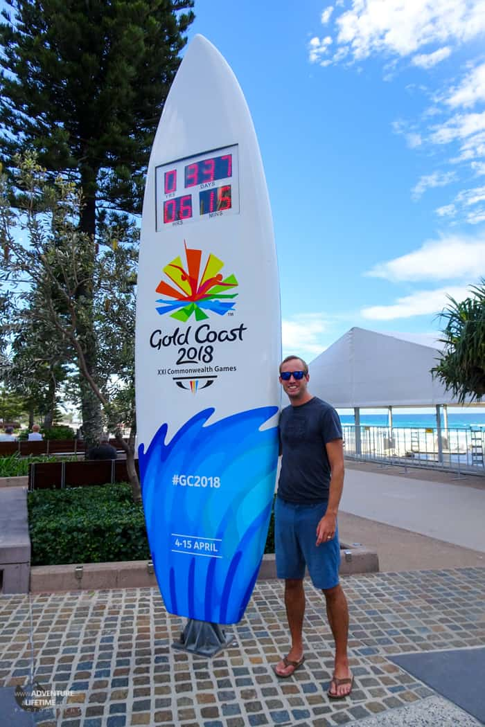 Gold Coast countdown to Commonwealth Games 2018
