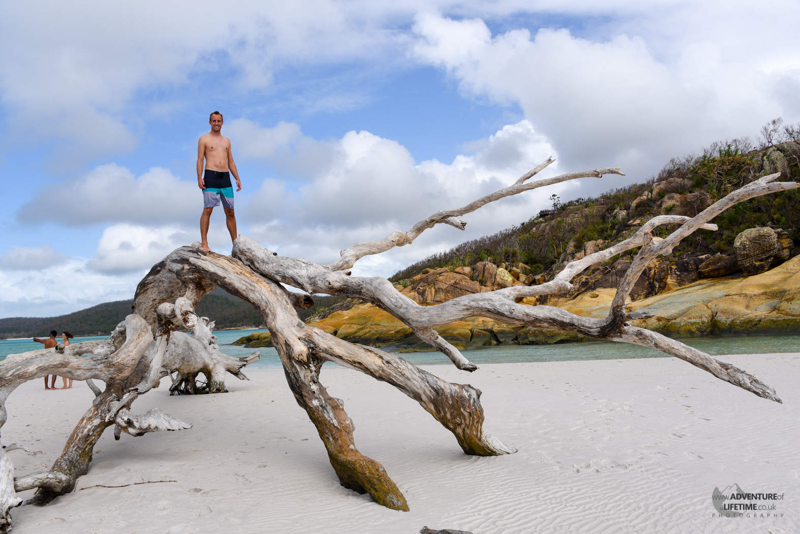 Michael at Whitehaven Beach