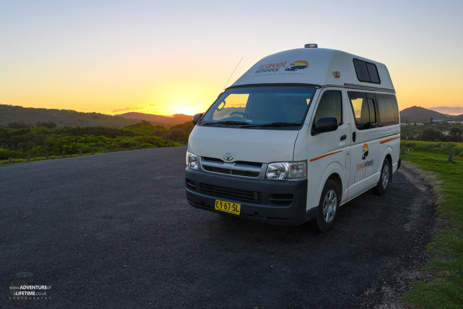 Murtle, our campervan from Travel Wheels