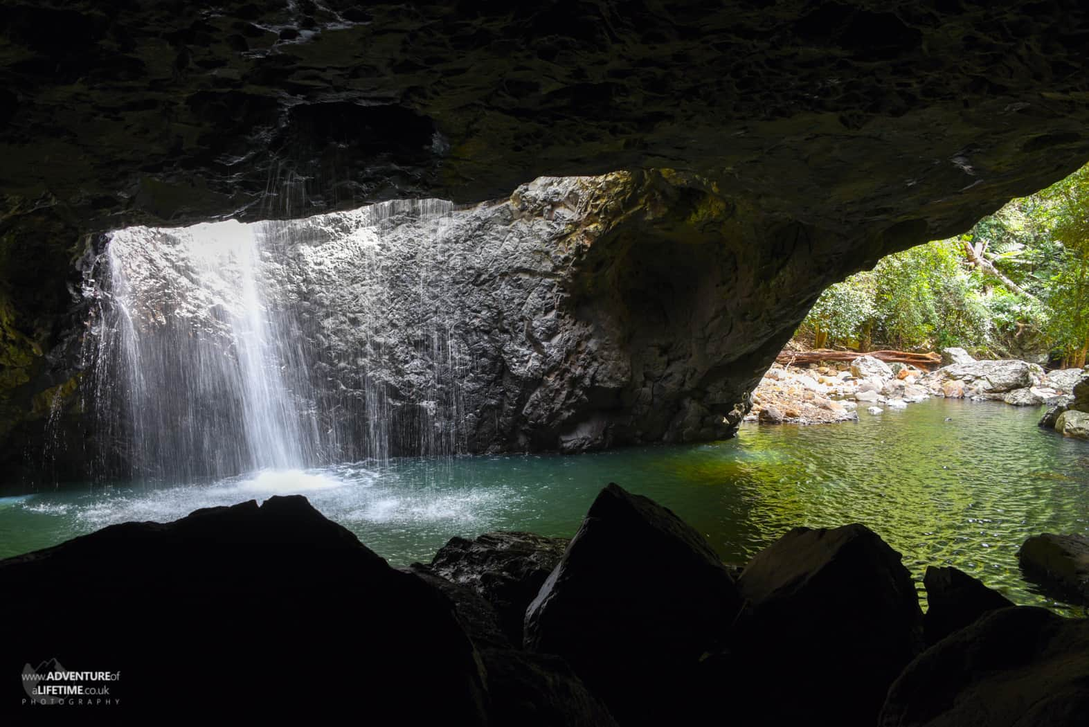 Natural Bridge, Queensland