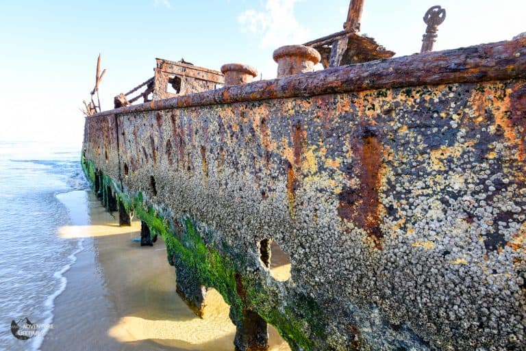 Ship wreck on Fraser Island