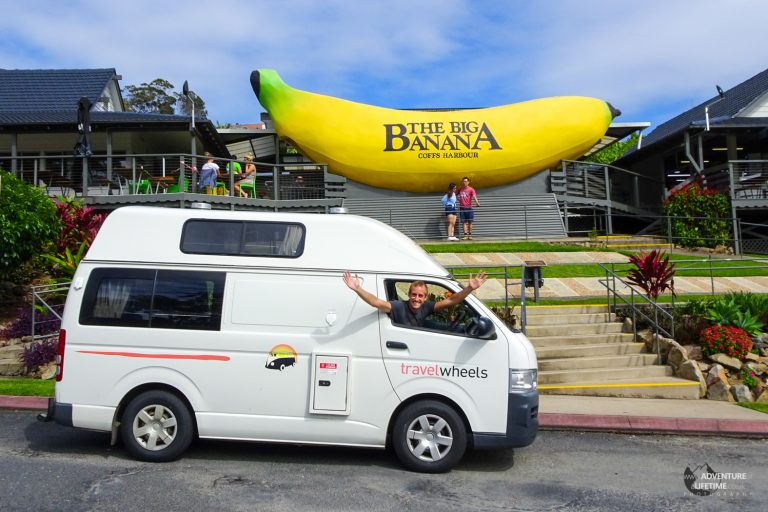 Travel Wheels Camper at The Big Banana