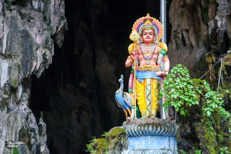 Batu Cave Statue Kuala Lumpur