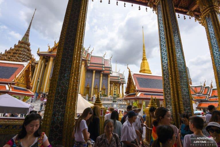 Chaos at The Grand Palace, Bangkok