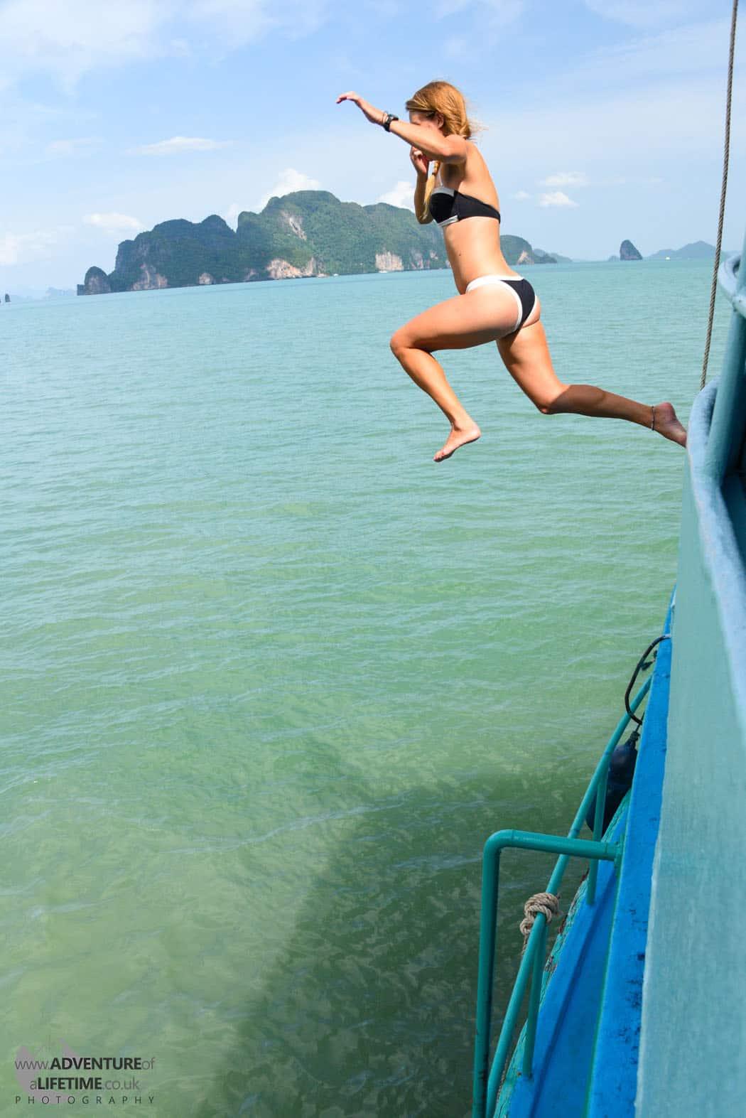 Dora Boat Jump Phuket