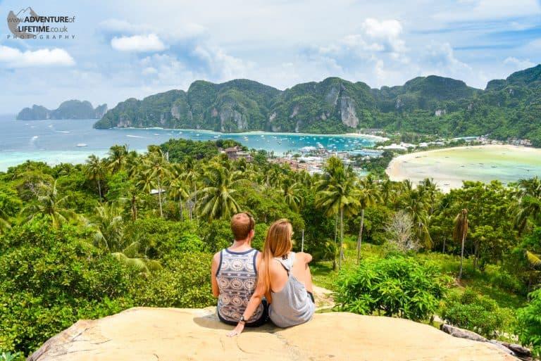 View Over Koh Phi Phi