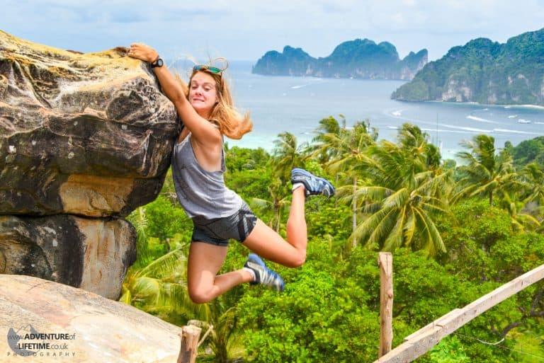 Dora On the Edge Koh Phi Phi