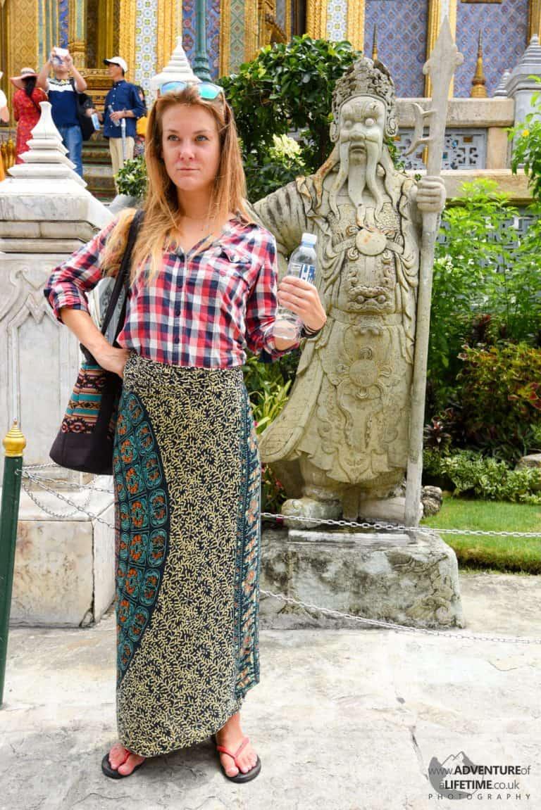 Dora at The Grand Palace Bangkok