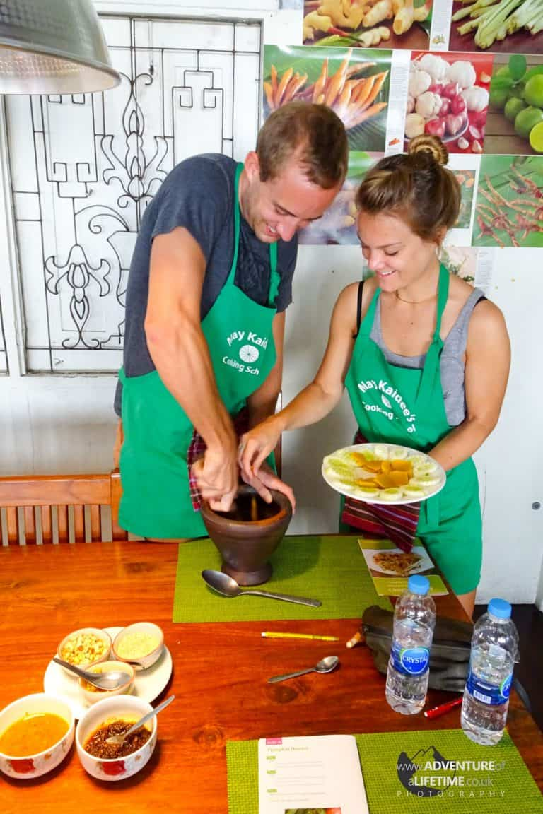 Mai Kaidee Cooking School