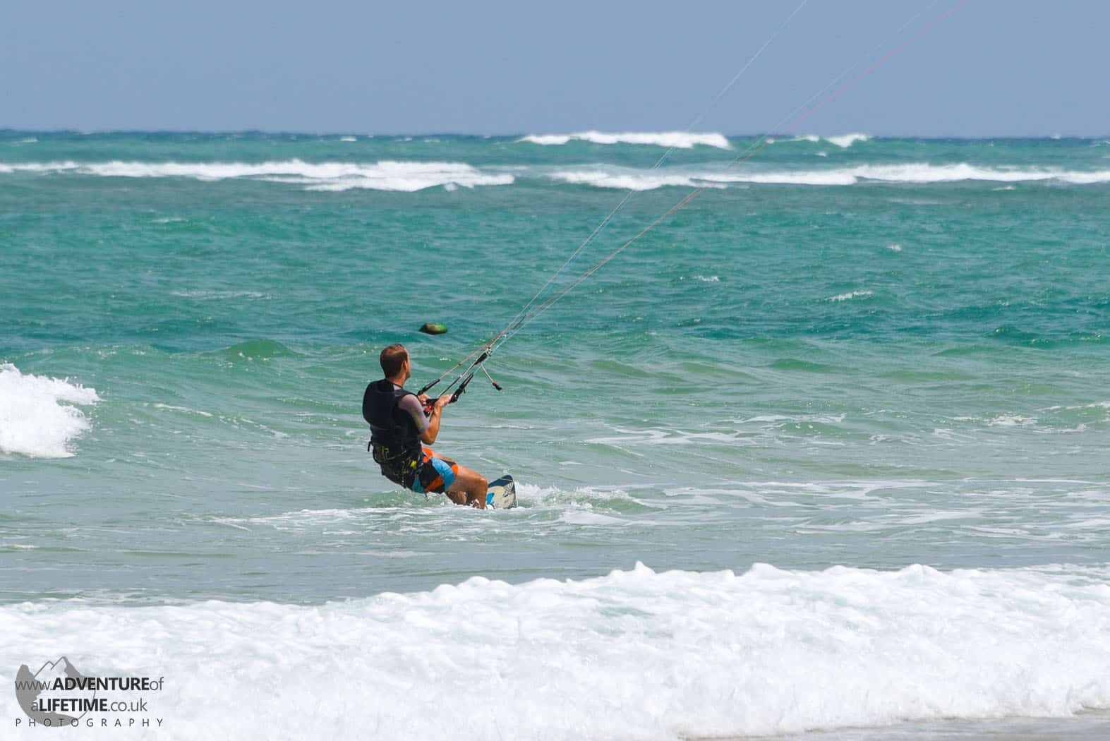 Michael Kite Surfing Nai Yang Beach